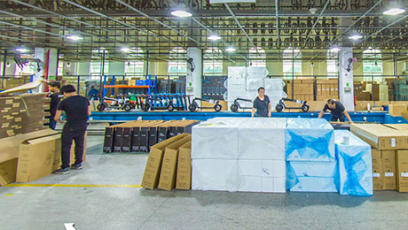 The HX U.S. overseas warehouse was set up officially